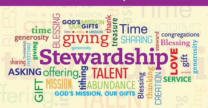 Pentecost 22 - Stewardship Sunday image